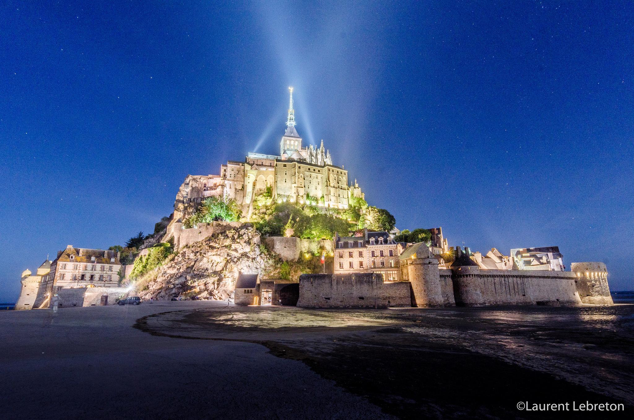 Traversée Nocturne (Mont Saint-Michel)